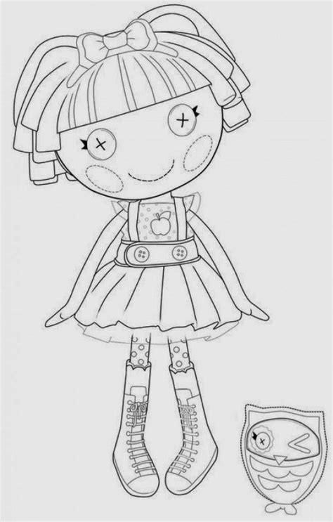lalaloopsy halloween coloring pages fun coloring pages lalaloopsy doll coloring pages