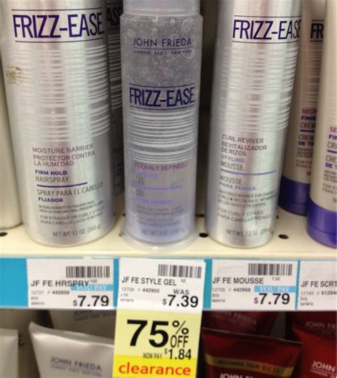 styling gel cvs great deal on john frieda frizz ease styling gel at cvs