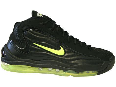reggie miller basketball shoes nike air total max uptempo le black volt reggie miller