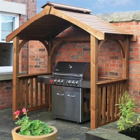 bbq gazebo details about traditional wooden gazebo pergola garden