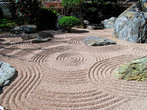 Zen Garden Rocks Yusuke Japan Clam And Peaceful Japanese Rock Garden The Of Zen