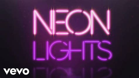 what is the color of a neon light demi lovato neon lights official lyric