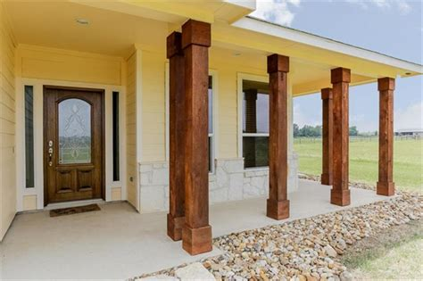 cedar porch posts texas ideas for make square cedar