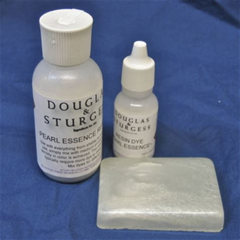 douglas and sturgess: 1/2 oz. resin dye pearl essence