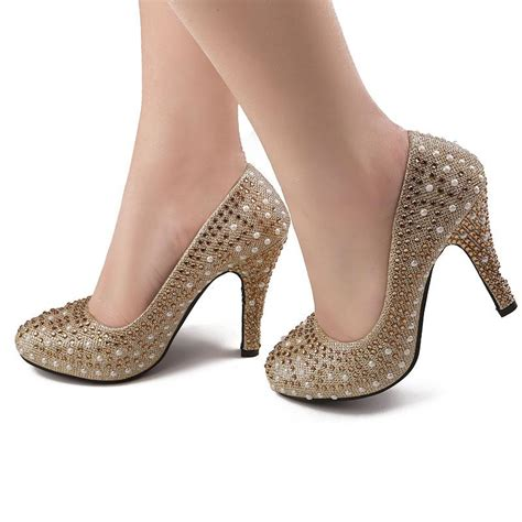 Heels 10cm fashionable 10cm high heels bridesmaid shoes
