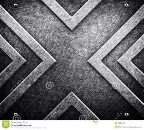 x background x pattern on metal background royalty free stock image
