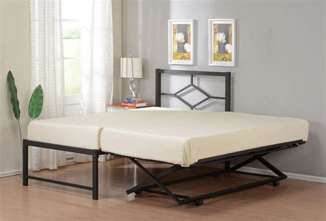 size metal hirise day bed daybed frame with