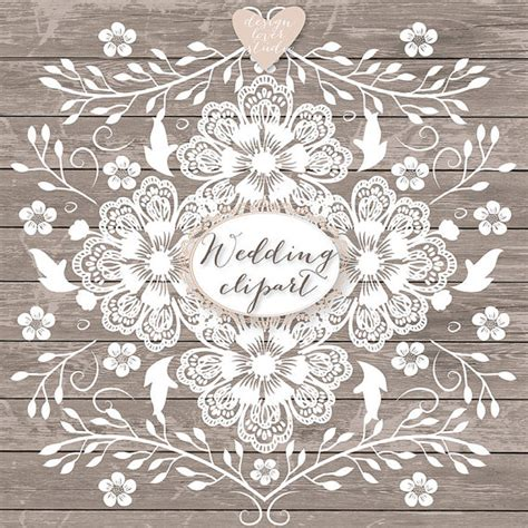 Rustic Wedding Border by Items Similar To Premium Vector Lace Border Rustic