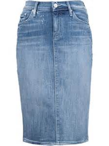 denim pencil skirts where to buy them and how to wear