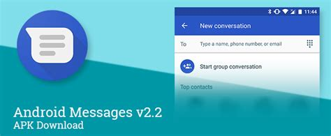 android message not downloaded android messages v2 2 cleans up the setup for and messaging allows adding new