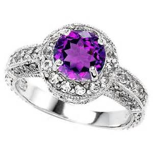 purple wedding rings another purple engagement ring jewelry