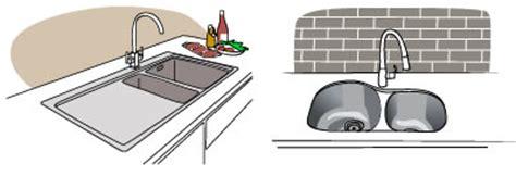 undermount sink vs top mount undermount and top mount sinks build
