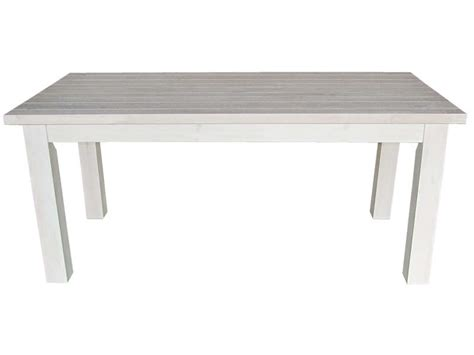 table rectangulaire avec allonge 230 cm max saraya en pin