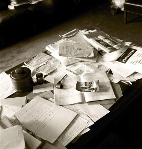 Albert Einsteins Desk american history blogmanac albert einstein s office the