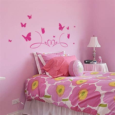 Tete De Lit Papillon by Sticker T 234 Te De Lit Papillons D 233 Coration Murale Chambre