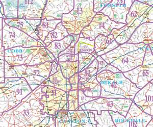 Map Of Atlanta by Pics Photos Atlanta Zone Map