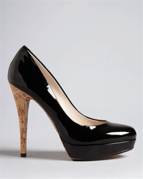 michael kors kors platform pumps cyprien high heel in