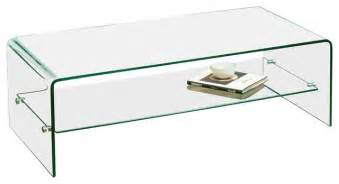 charlize glass coffee table modern coffee tables by