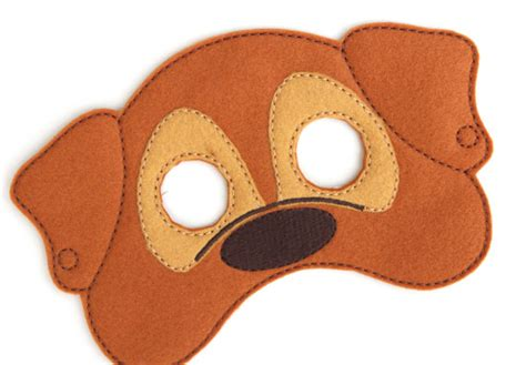 puppy mask mask for children