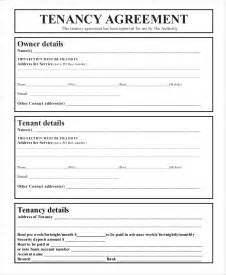 tenancy agreement contract template 43 basic agreement forms free premium templates