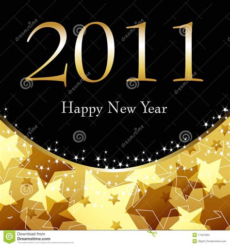 new year gold vector beautiful gold starry new year s illustration stock images