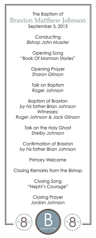 baptism program template 17 best images about baptism on program