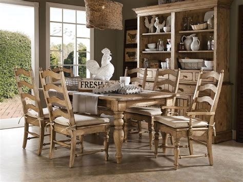 Farm Table Dining Room Set Homecoming Solid Wood Farmhouse Leg Dining Table