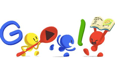 google images doodle today s google doodle is a pad thai party eater