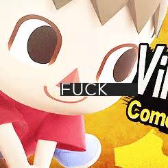 Animal Crossing Villager Meme - meme watch animal crossing s creepy villager is playable