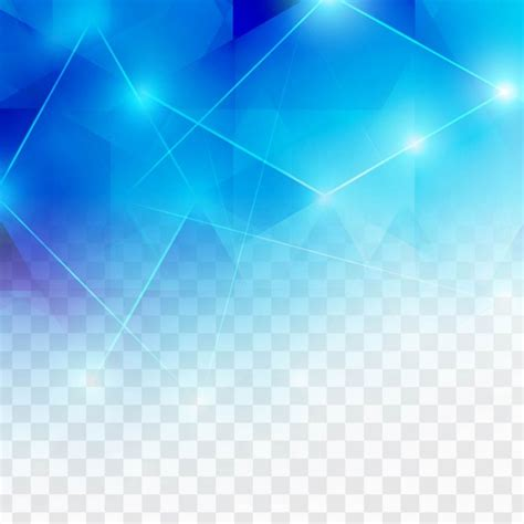 blue free polygonal blue background with lights vector free