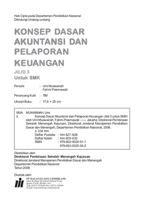Akuntansi Keuangan Menengah Jilid I akuntansi jilid 3