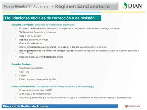 valor de la sancion minima en colombia dian 2016 regulaci 243 n aduanera colombia