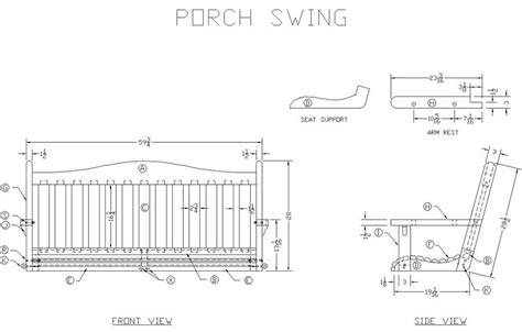 printable porch swing plans plans table plan generator freepdfplans woodplanspdf