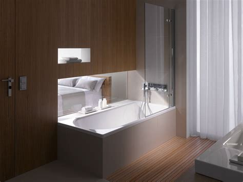 duschabtrennung für badewanne design dusche badewannen