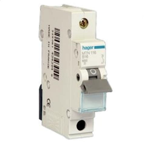 Mcb Schneider 1 Phase 6a 20 A mcb miniature circuit breaker electrical