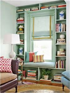 Bookshelves Around Window 10 House Designs For Small Spaces