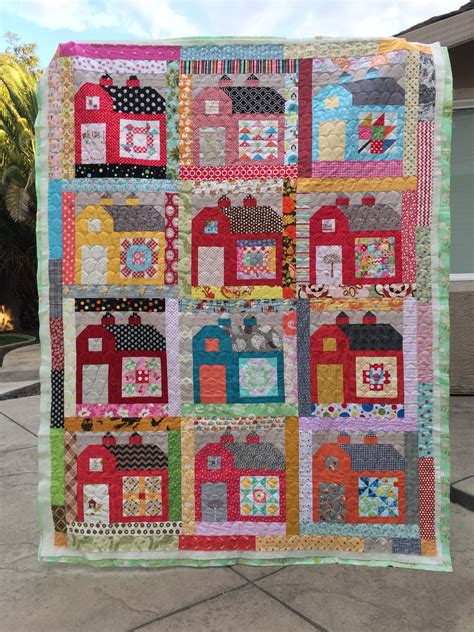 Farm Quilts by Quilt Create Farm Vintage Quilty Barns