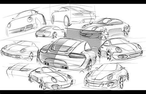 Porsche 911 Sketches by Porsche 911 Sketches By Seko91 On Deviantart