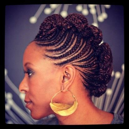 pict of mohawk afircan braids 111 best images about cornrows updo on pinterest flat