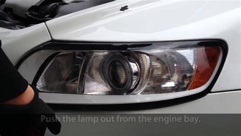 remove headlights  volvo     light bulb change video dailymotion
