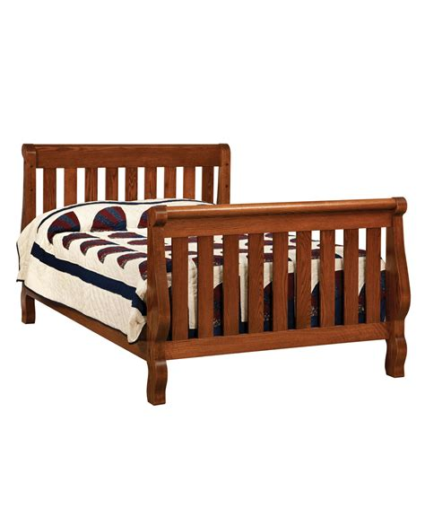 Sleigh Bed Cribs Hoosier Sleigh Conversion Crib Amish Direct Furniture
