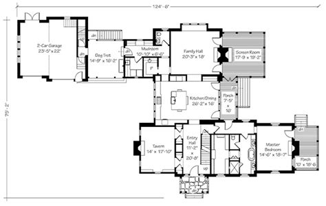 Southern Living Floor Plans by Fox Hill Southern Living House Plans