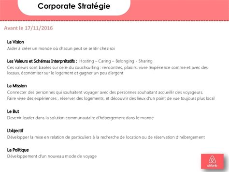 airbnb vision and mission airbnb diagnostique analyse et formulation strat 233 gique