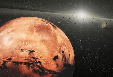 Mars Space how is a day on mars universe today