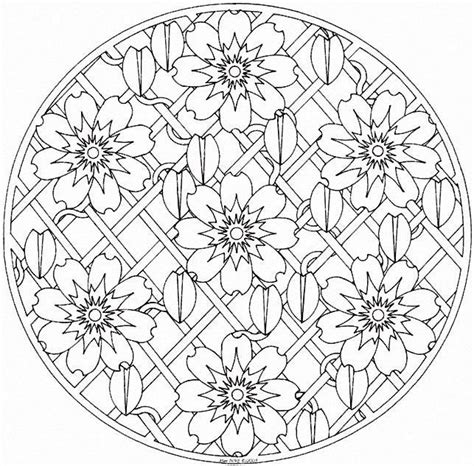 printable mandala images free coloring pages of mandalas love