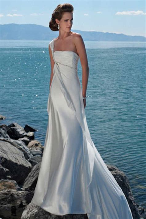different styles of beach wedding dresses fashion styles