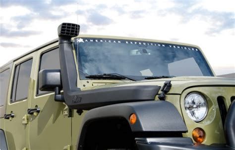 Jeep Jk Snorkel Reviews American Expedition Vehicles Premium Suspension Systems