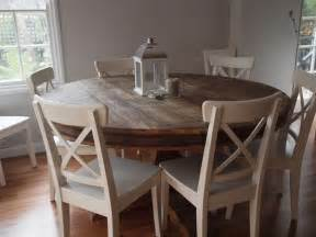 Lovely round kitchen table for the home pinterest
