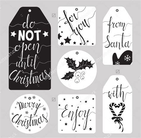 free printable elegant christmas gift tags 20 printable gift tag templates free psd ai eps