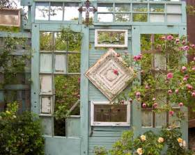 Using Old Windows In The Garden 12 Great Ideas For Upcycling Old Doors